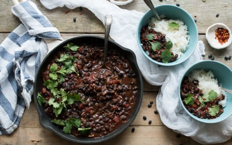 Colombian Black Bean Stew