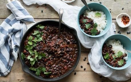 Colombian Black Bean Stew