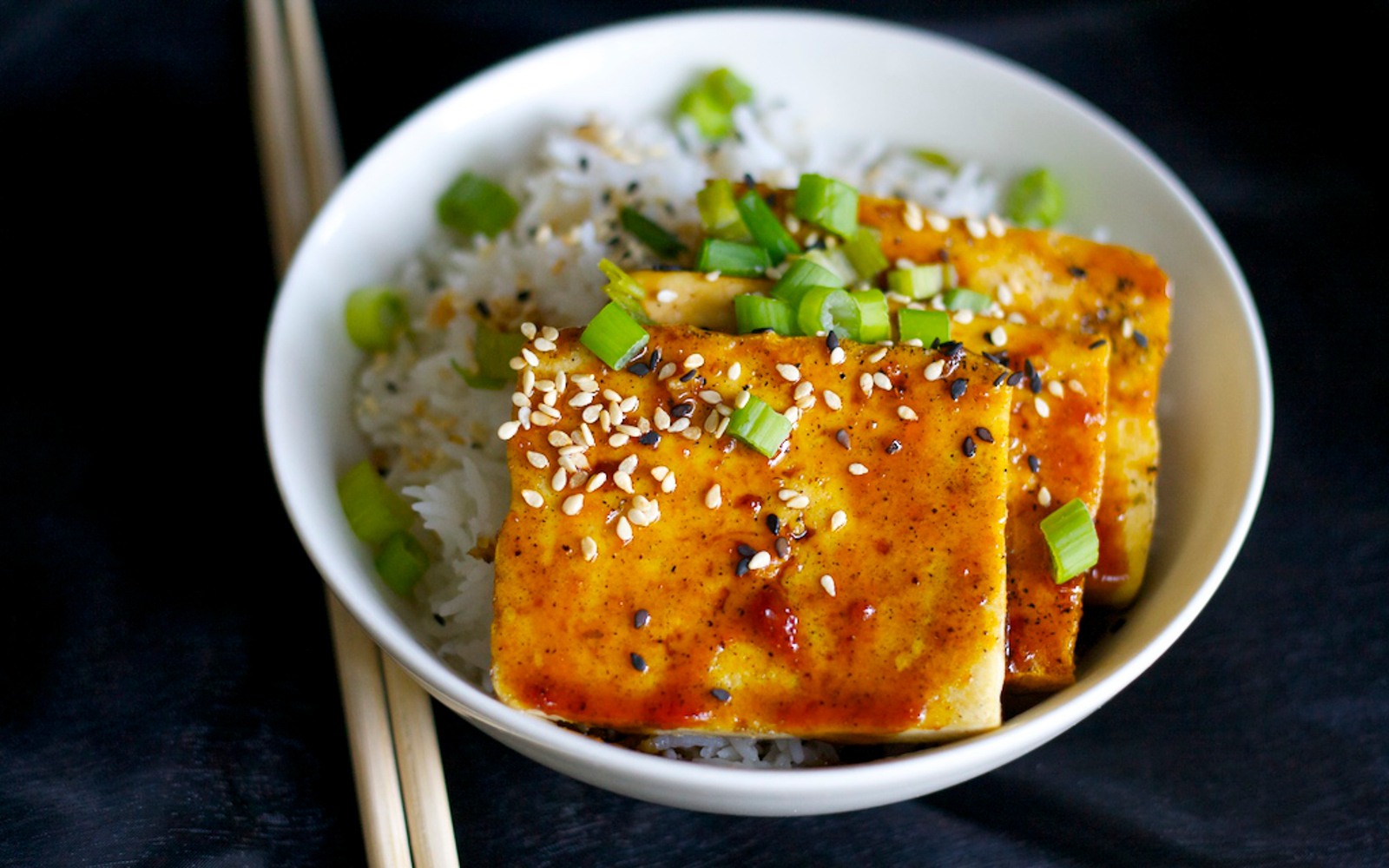 Korean BBQ Tofu 1