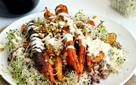 Roasted Spiced Carrots 1