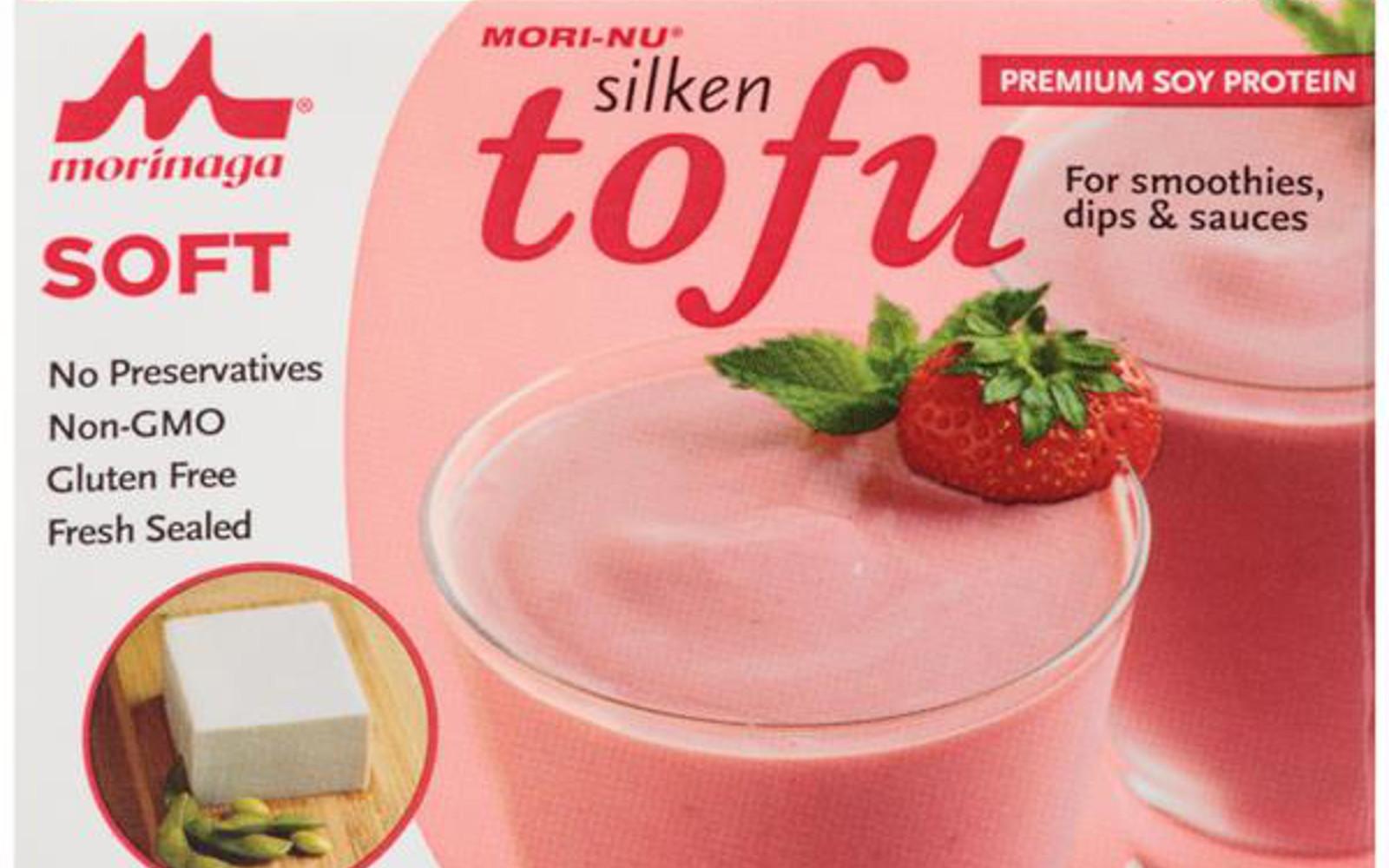 Silken tofu protein