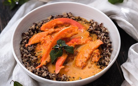 Papaya Curry 1