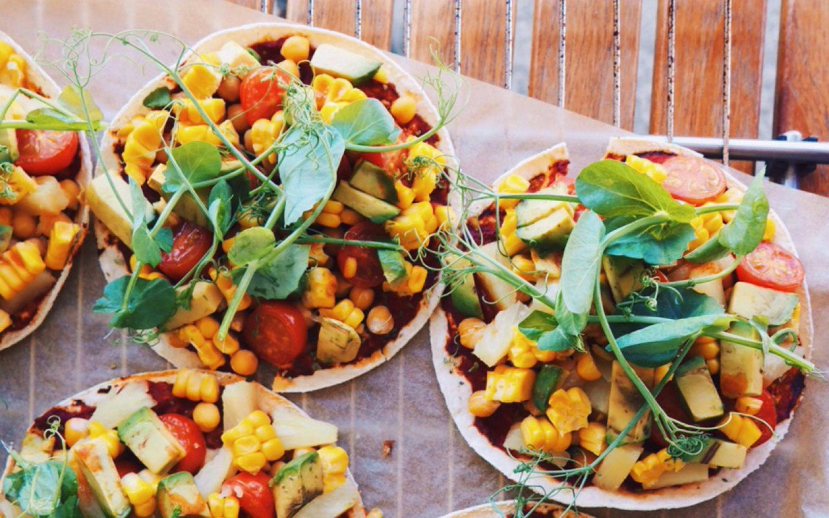 pineapple pizza tacos
