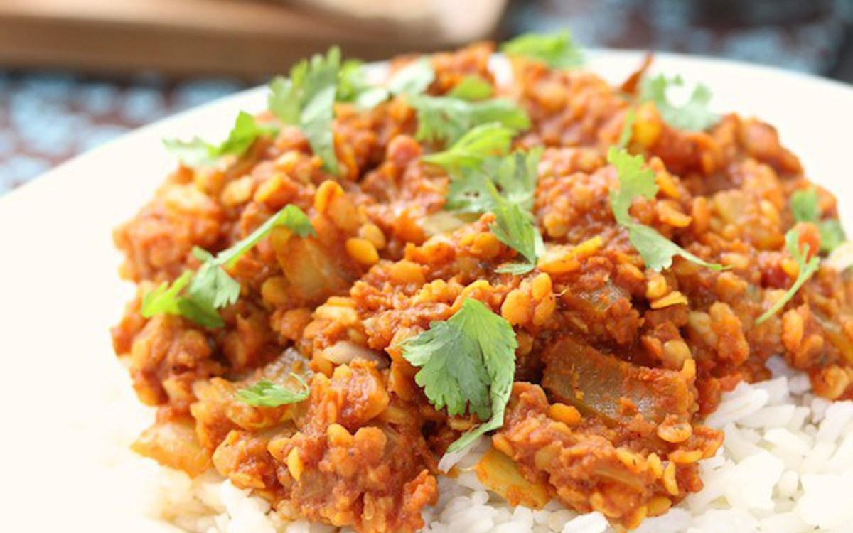Healthy Low-Sodium Red Lentil Curry