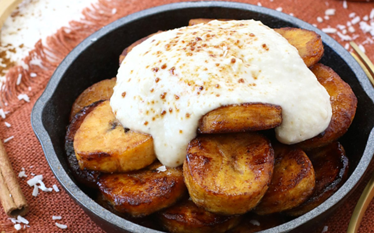 caramelized plantains