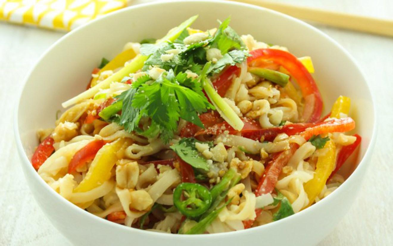 Vegan 15-Minute Hot and Sour Thai Noodles