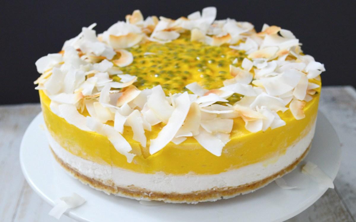 Raw Tropical Cheesecake 2
