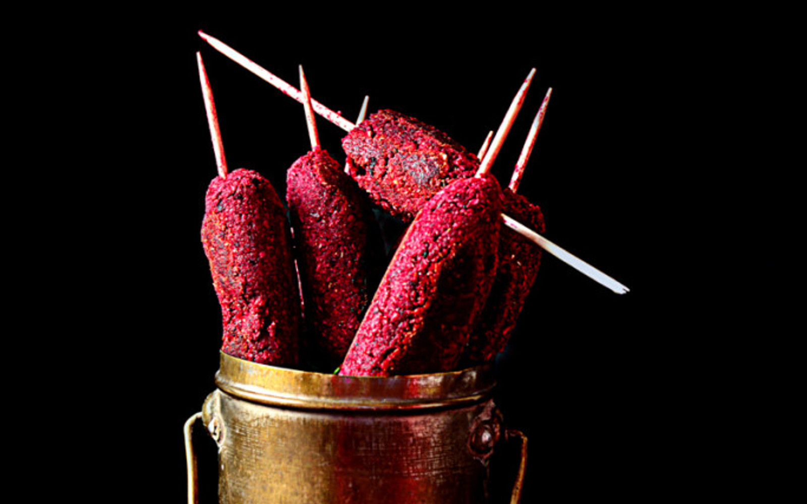 Roasted Beet Kebabs