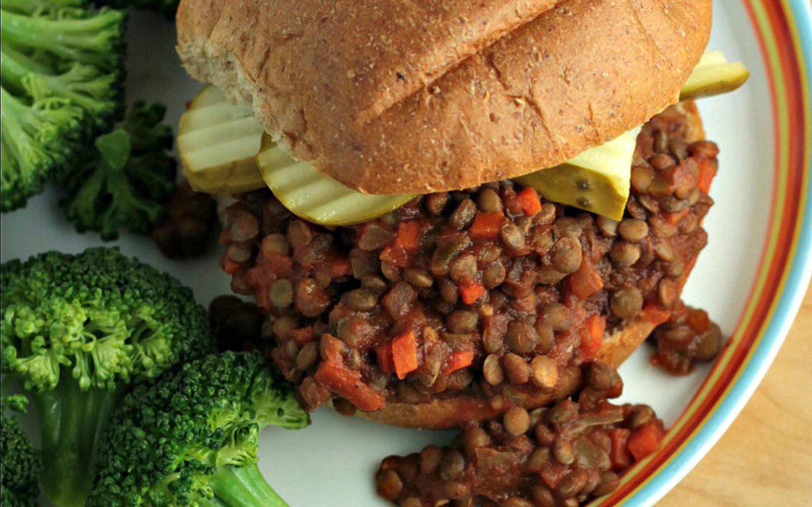 sloppy lentils