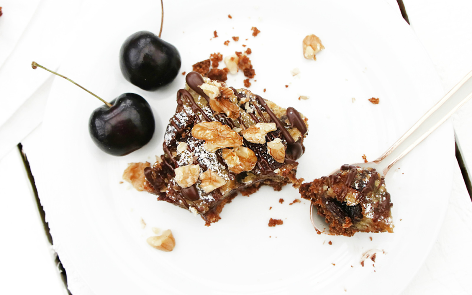 Cherry Almond Raisin Bars