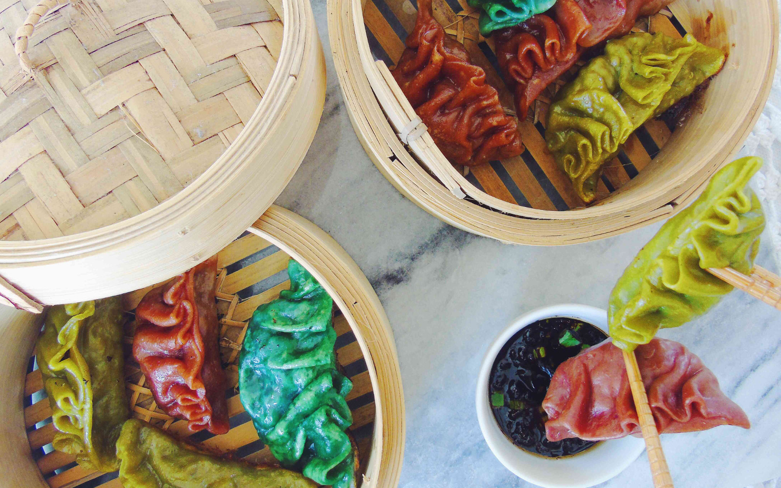 Colorful Tofu Mushroom 1