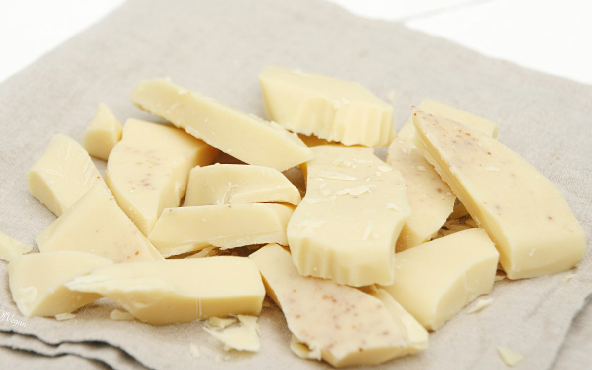 white chocolate For years, connoisseurs dismissed white chocolate — a confection made with  cocoa butter, milk solids and sugar, but with none of the cocoa.
