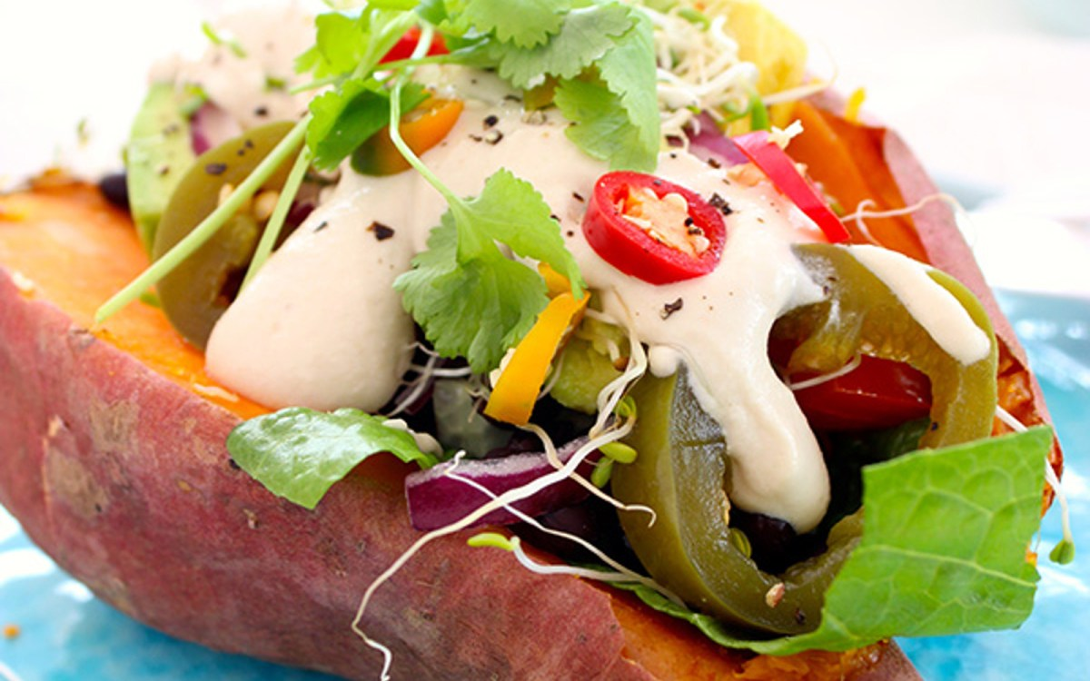 Mexican Stuffed Baked Sweet Potato 2