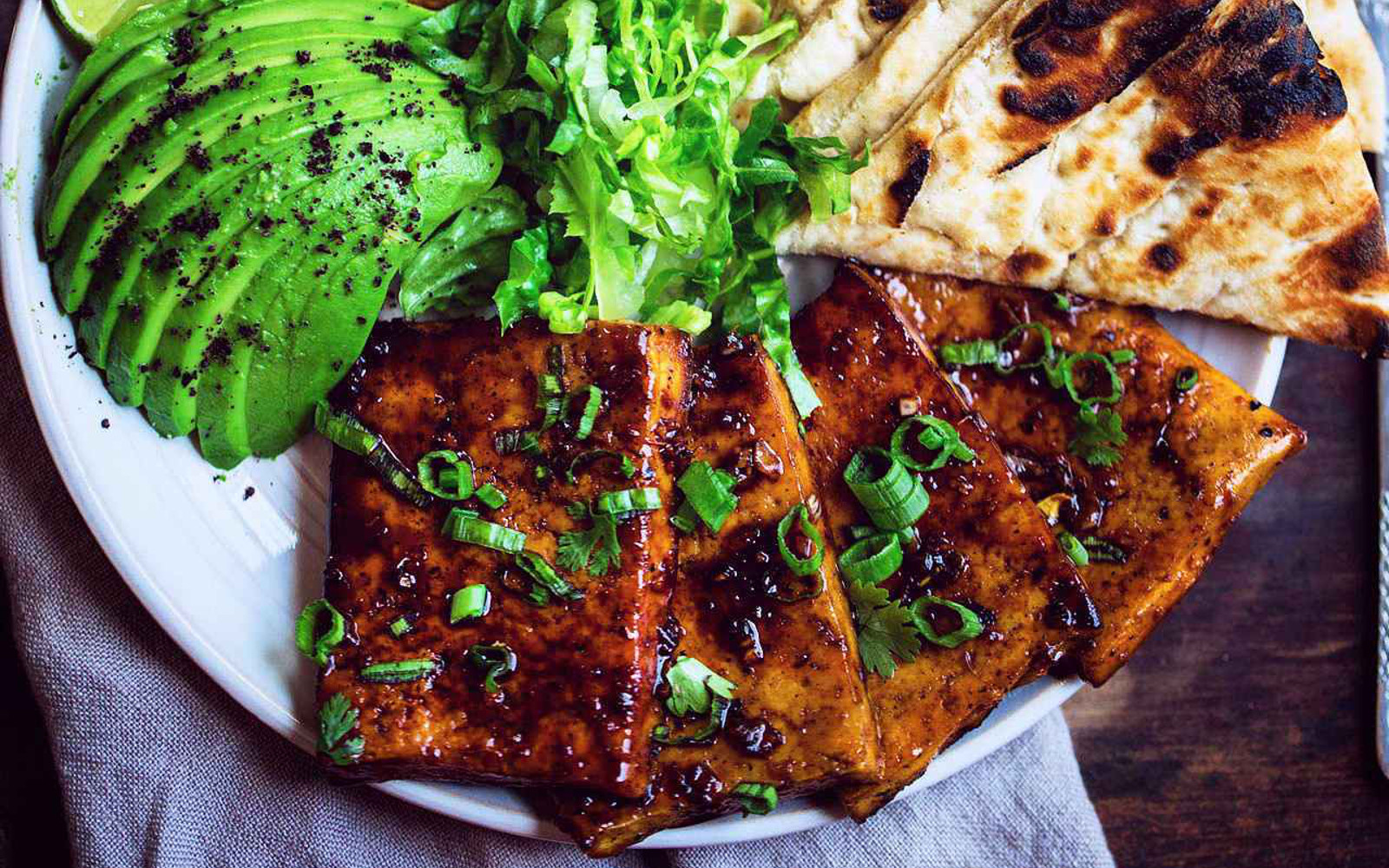 Teriyaki Glazed Tofu Steaks 1