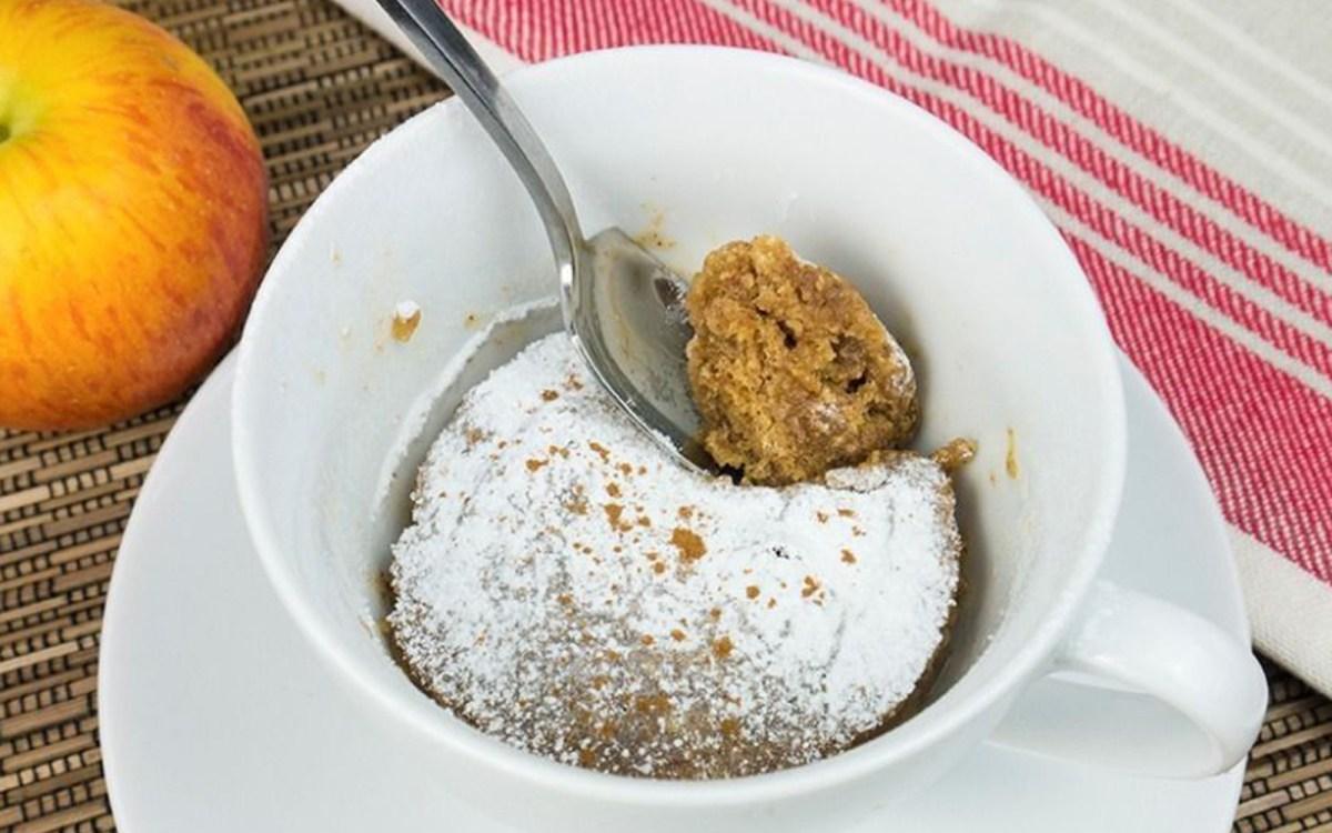 Cinnamon Apple Mug Cake