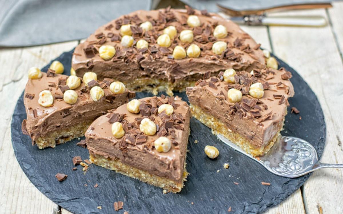 Hazelnut Cream Pie 6