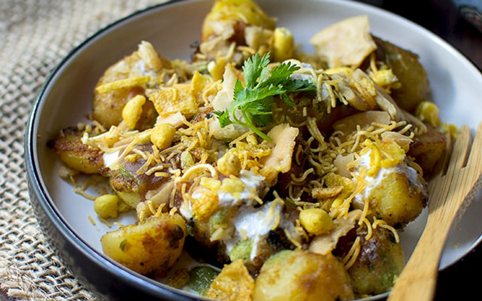Aloo Chaat: Indian Spicy Potato Snack