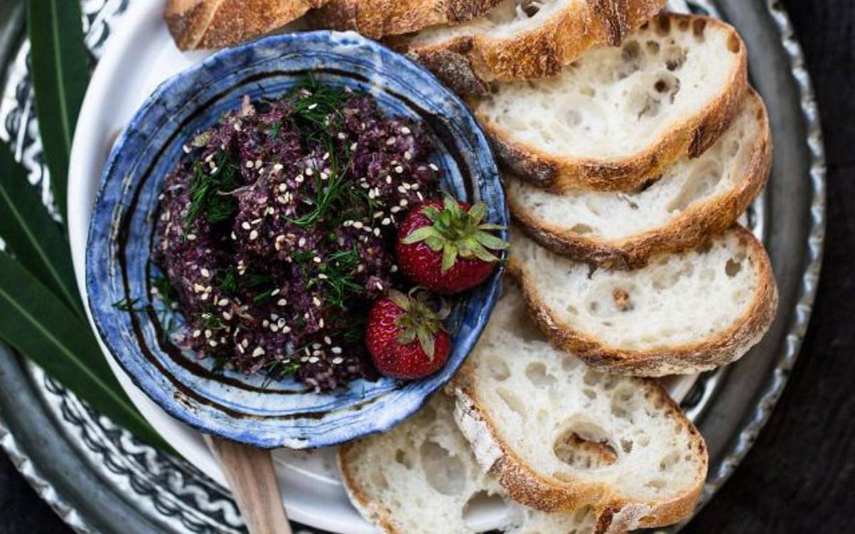 Artichoke Olive Tapenade With ZaAtar