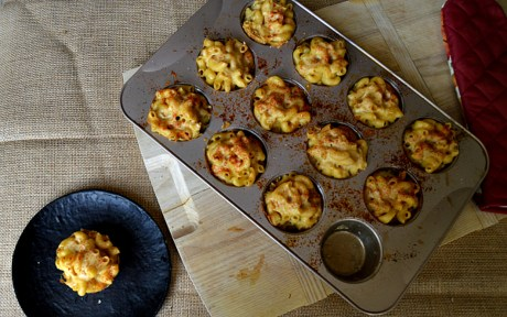 Baked Mac and Cheese Bites 1