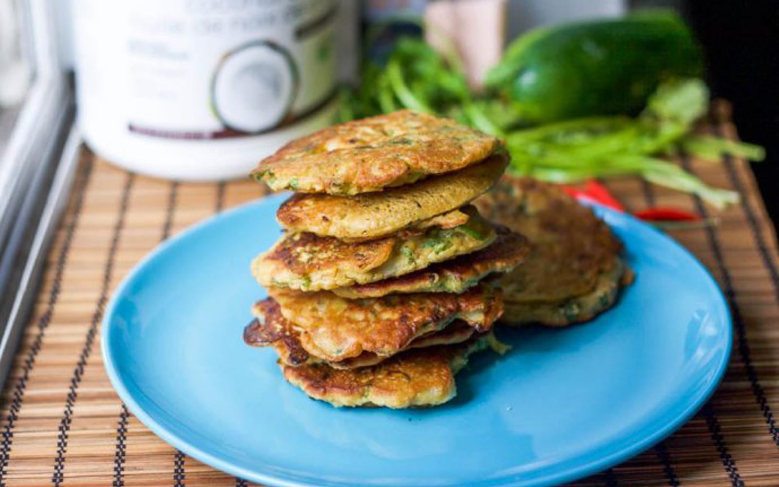 Flourless Zucchini Fritters 1