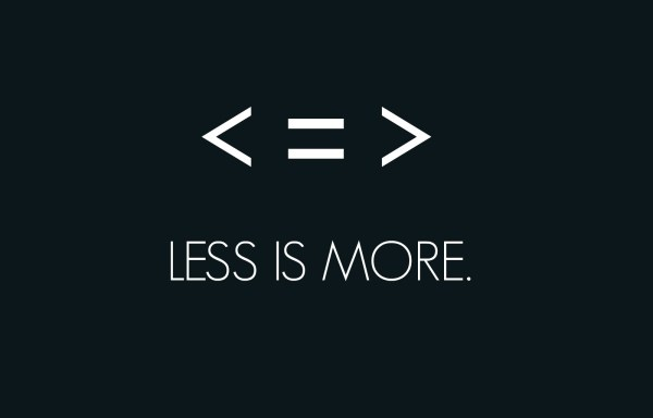 Why Less is More if You Want to Help the Planet and