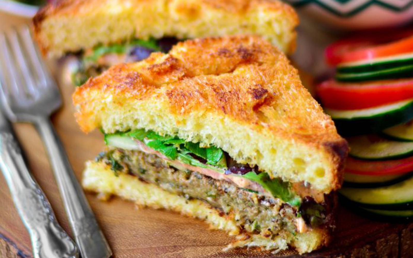 how to make bread loaded with greens