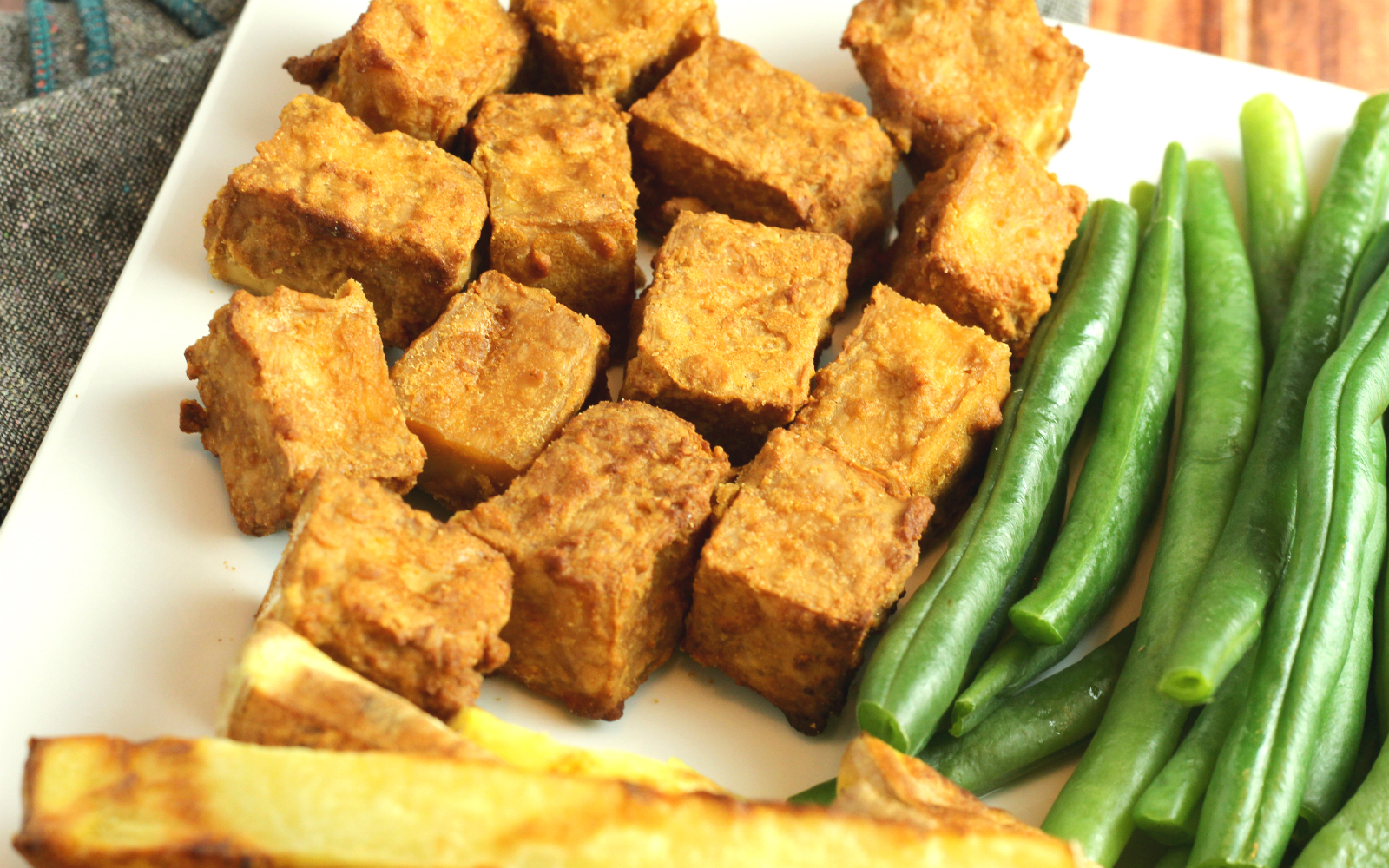 Crispy Air Fryer Tofu b