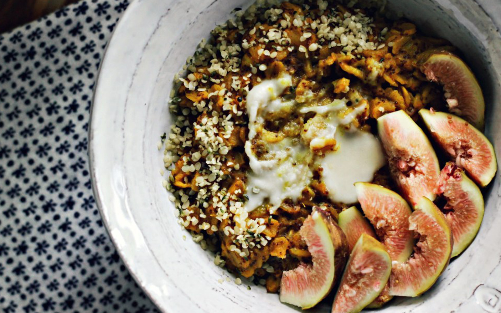 Toasted Turmeric Milk Oat and Teff Porridge