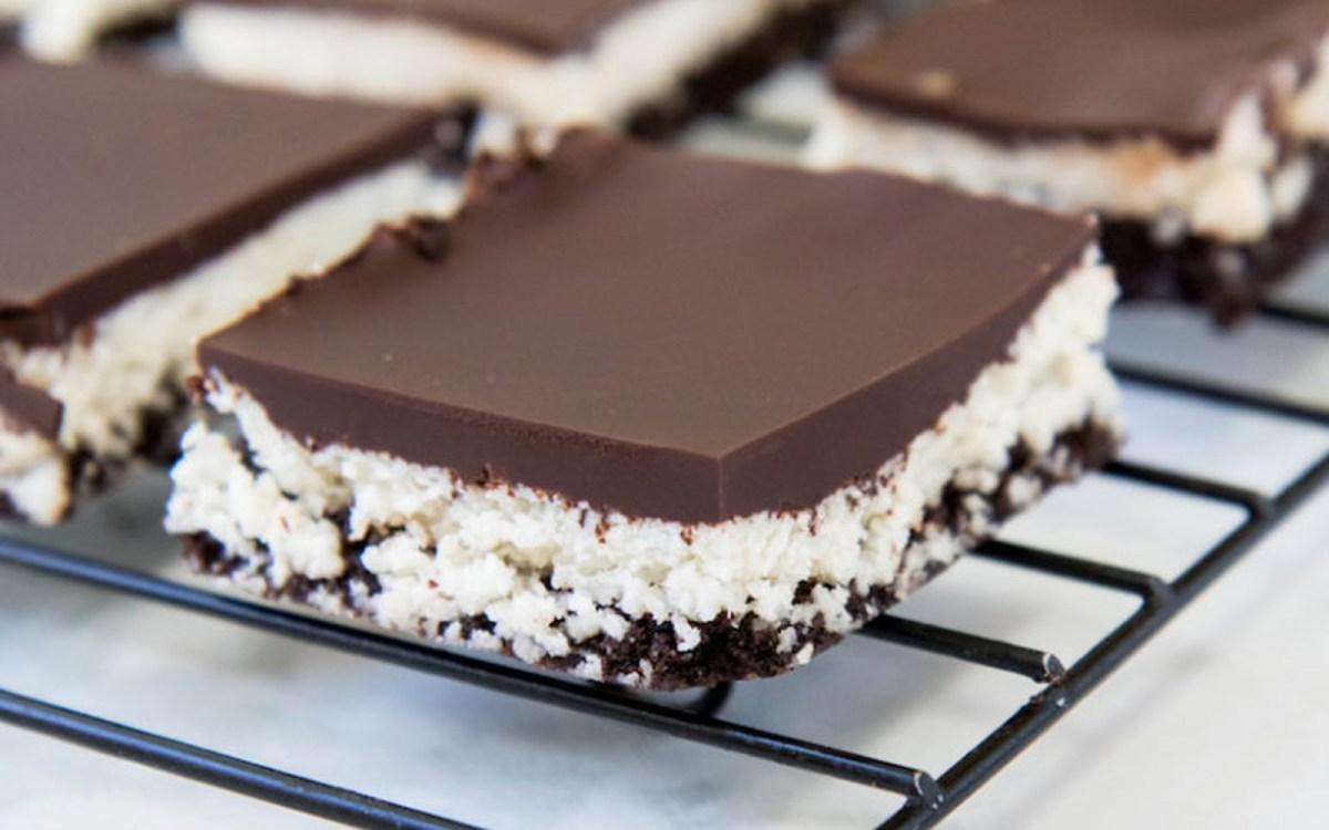 No-Bake Chocolate Coconut Walnut Brownies