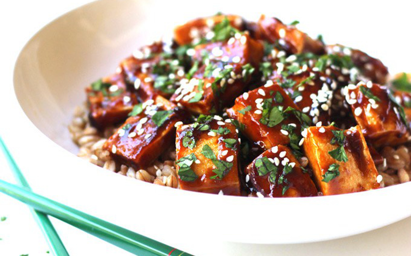 Vegan Super Easy Hoisin Tofu