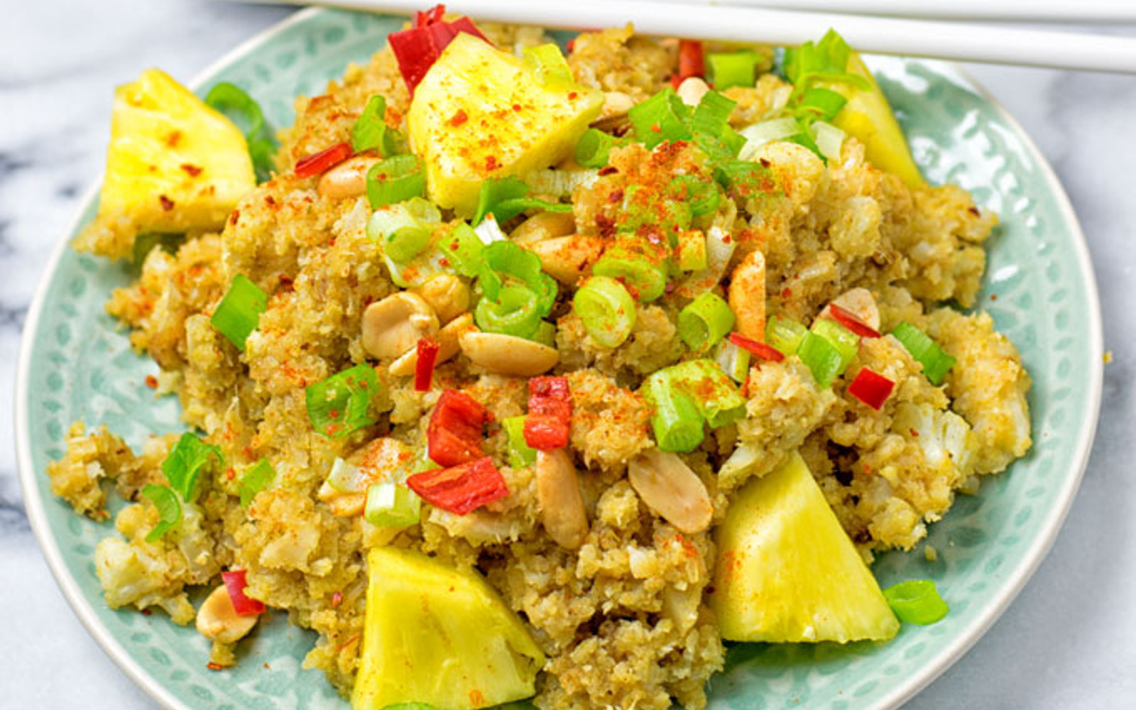 Thai Green Curry Cauliflower Rice