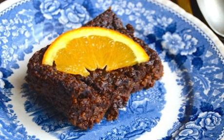 Quinoa, Chocolate, and Orange Cake