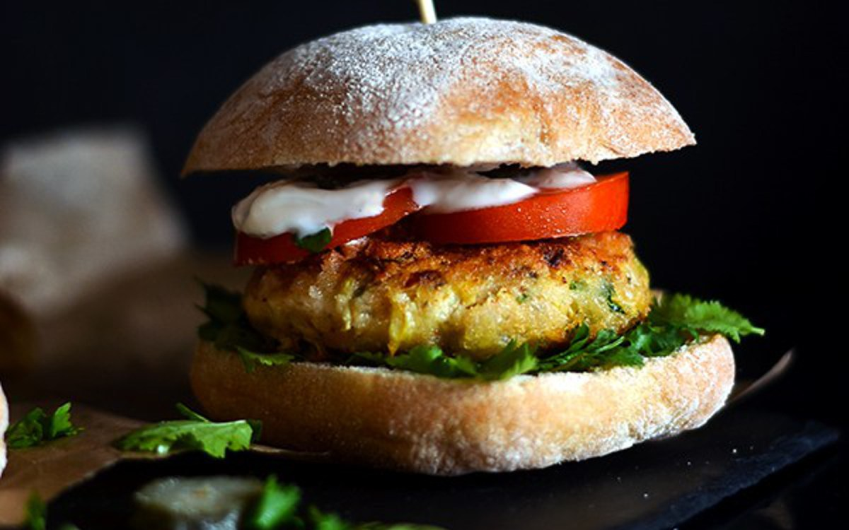 'Fillet-O-Fishless' Artichoke Sandwich