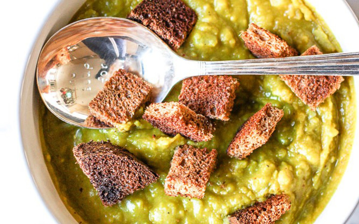 Vegan Slow Cooker Split Pea Soup