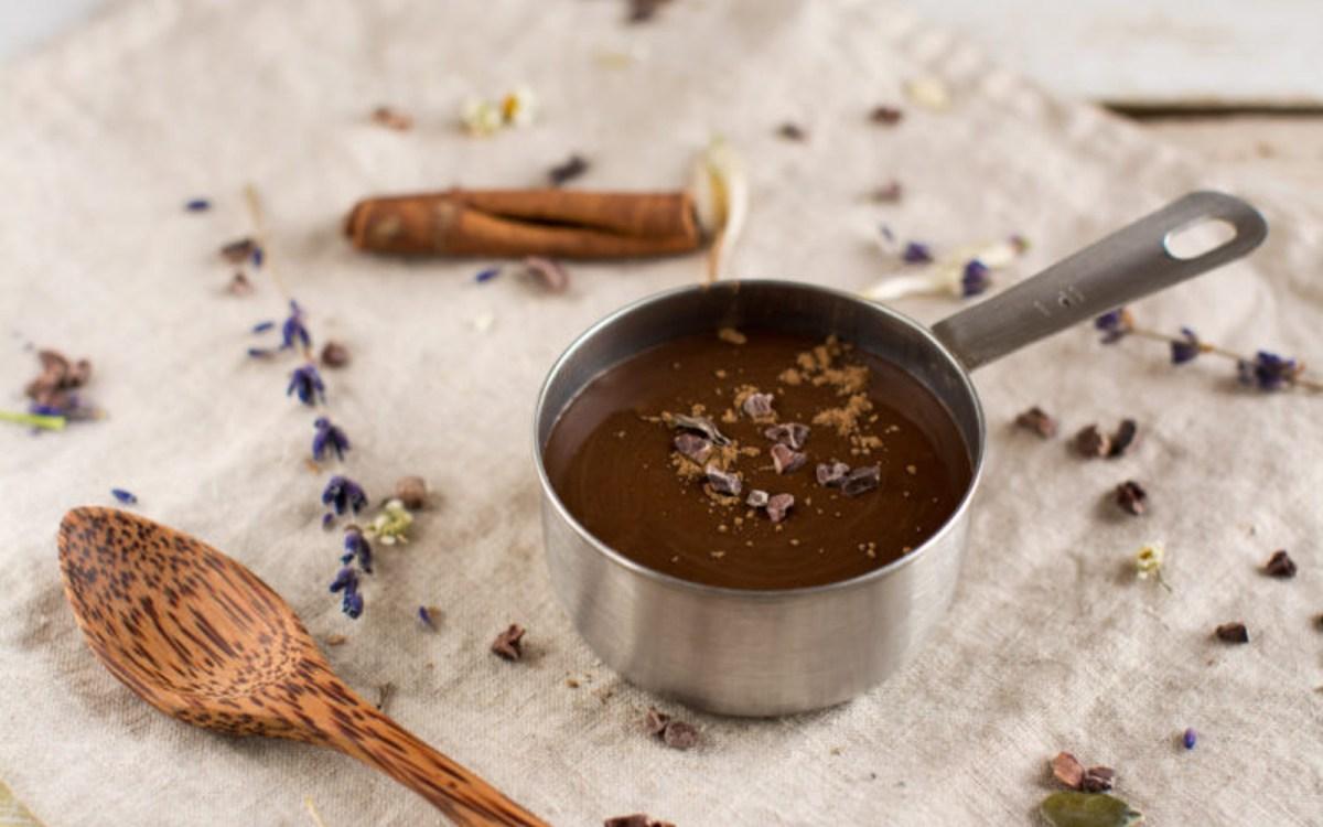 Oil-Free and Sugar-Free Chocolate Sauce [Vegan, Gluten-Free] | One ...
