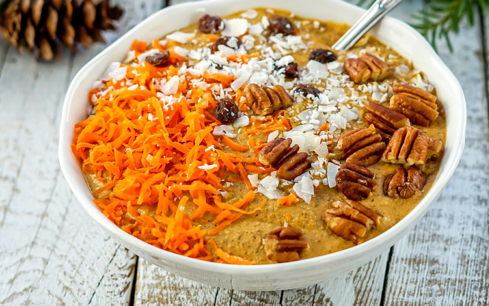 Fermented Carrot Cake Oats