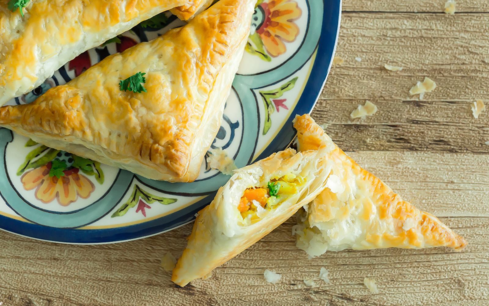 Oven-Baked Vegetable Samosas