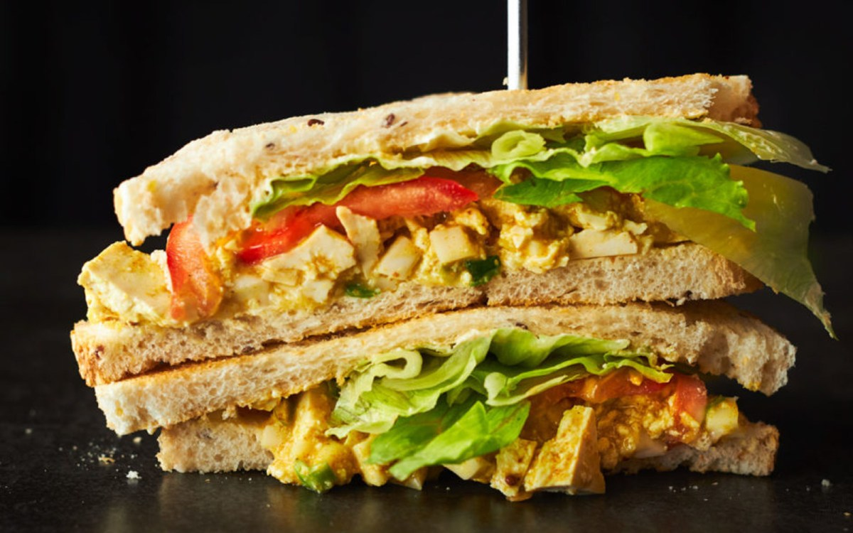 Curried 'Egg' Sandwiches