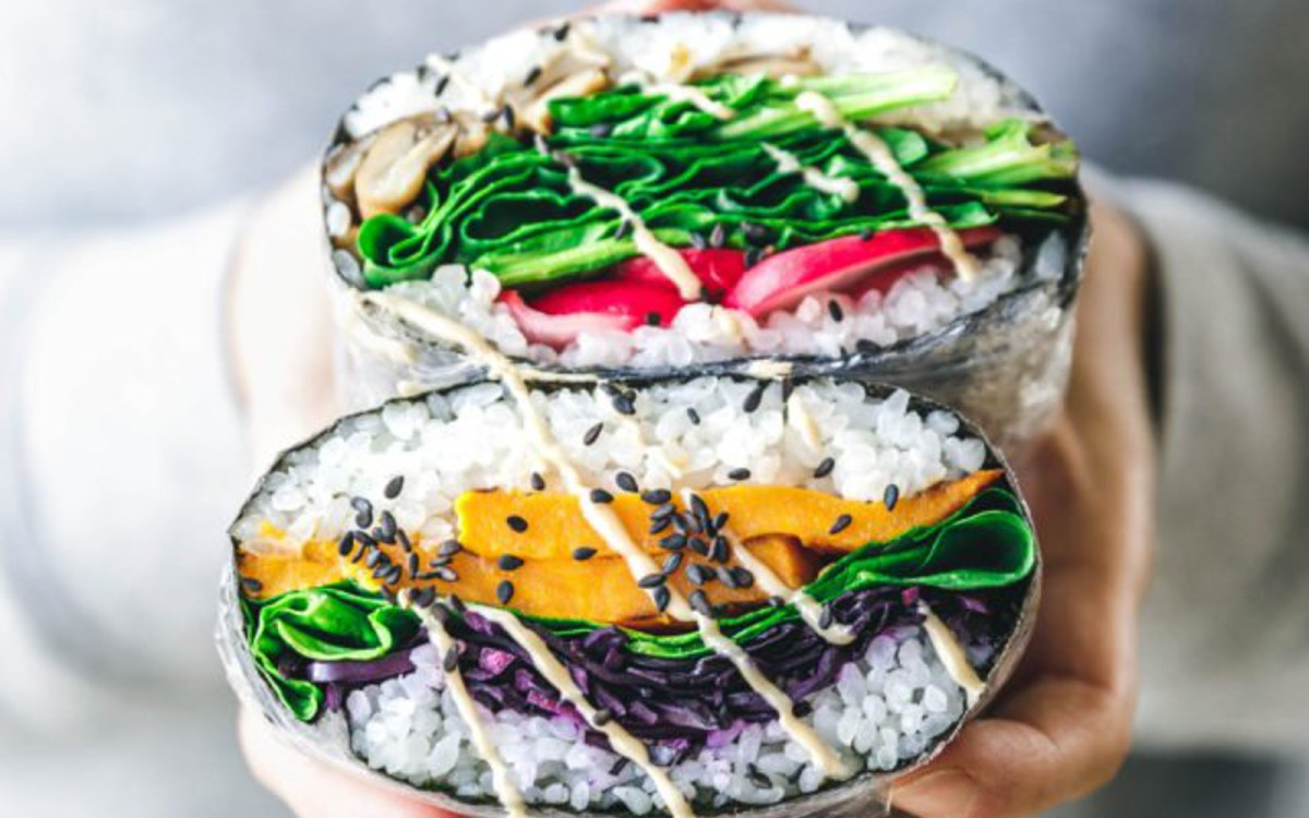 Vegan Gluten Free Onigirazu: Japanese Sushi Sandwiches, Three Ways