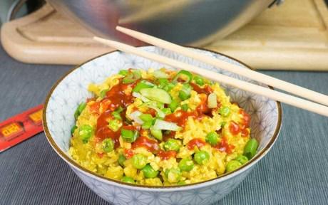 Fried Egg Rice