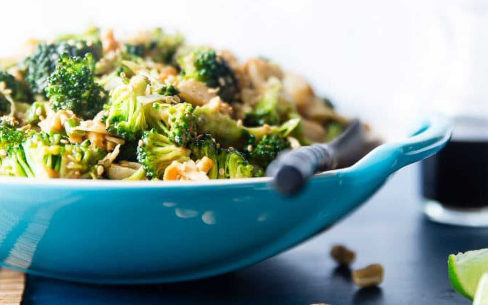 Vegan Asian Healthy Broccoli Salad