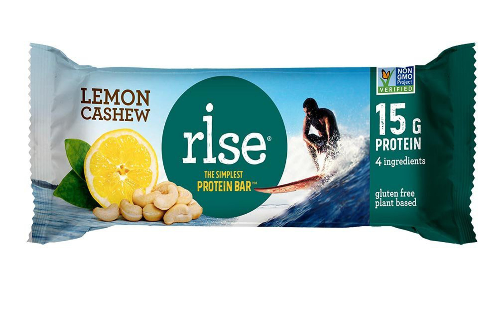 Looking For A Bar Thatu0027s Minimally Processed, But Still High In Protein? We  Understand The Struggle. These Rise Bar Lemon Cashew Protein Bars Are Made  From ...