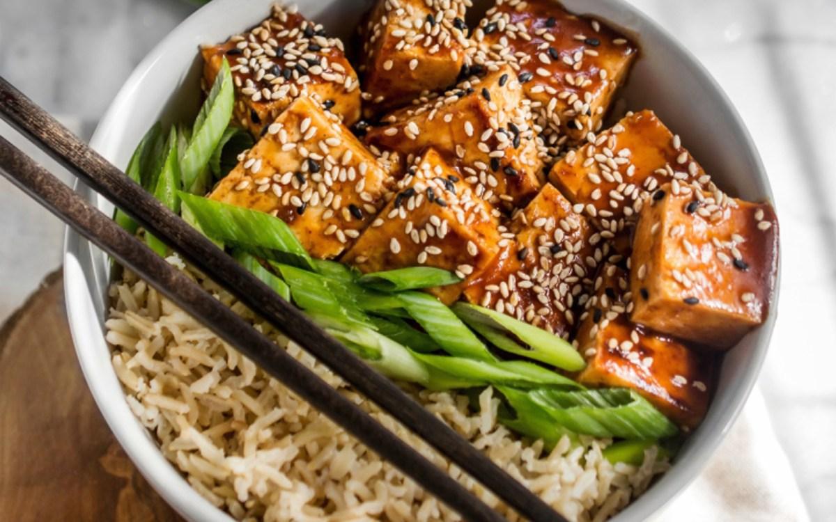 Sweet and Sour Tofu Bowl
