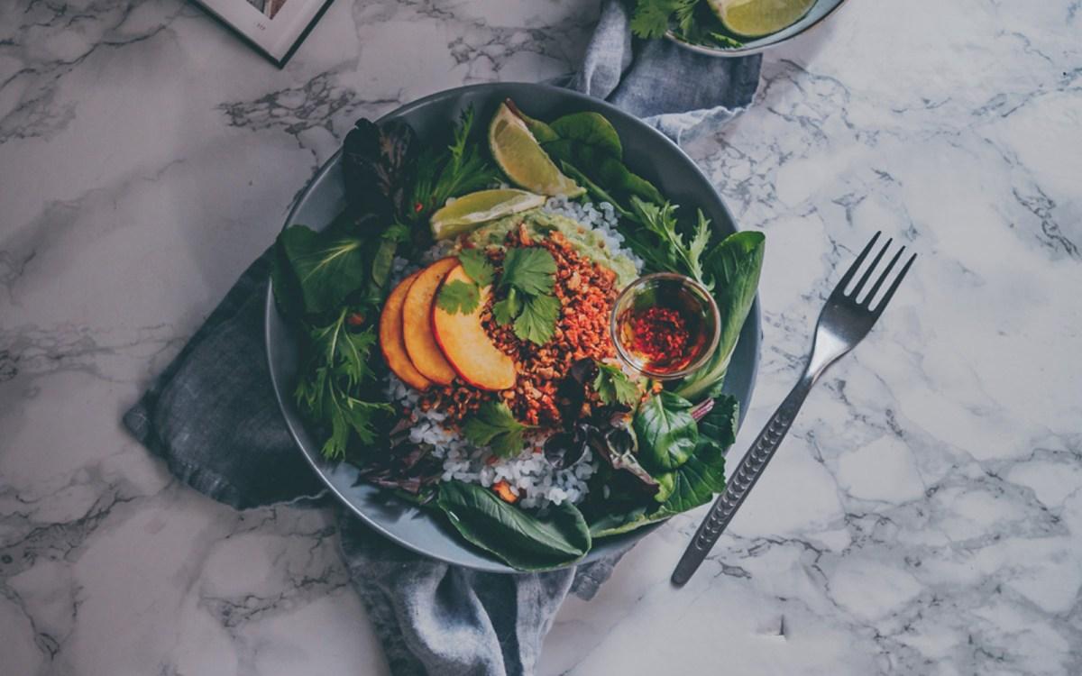 Vegan Tex-Mex Walnut Cauliflower Fajita Bowl