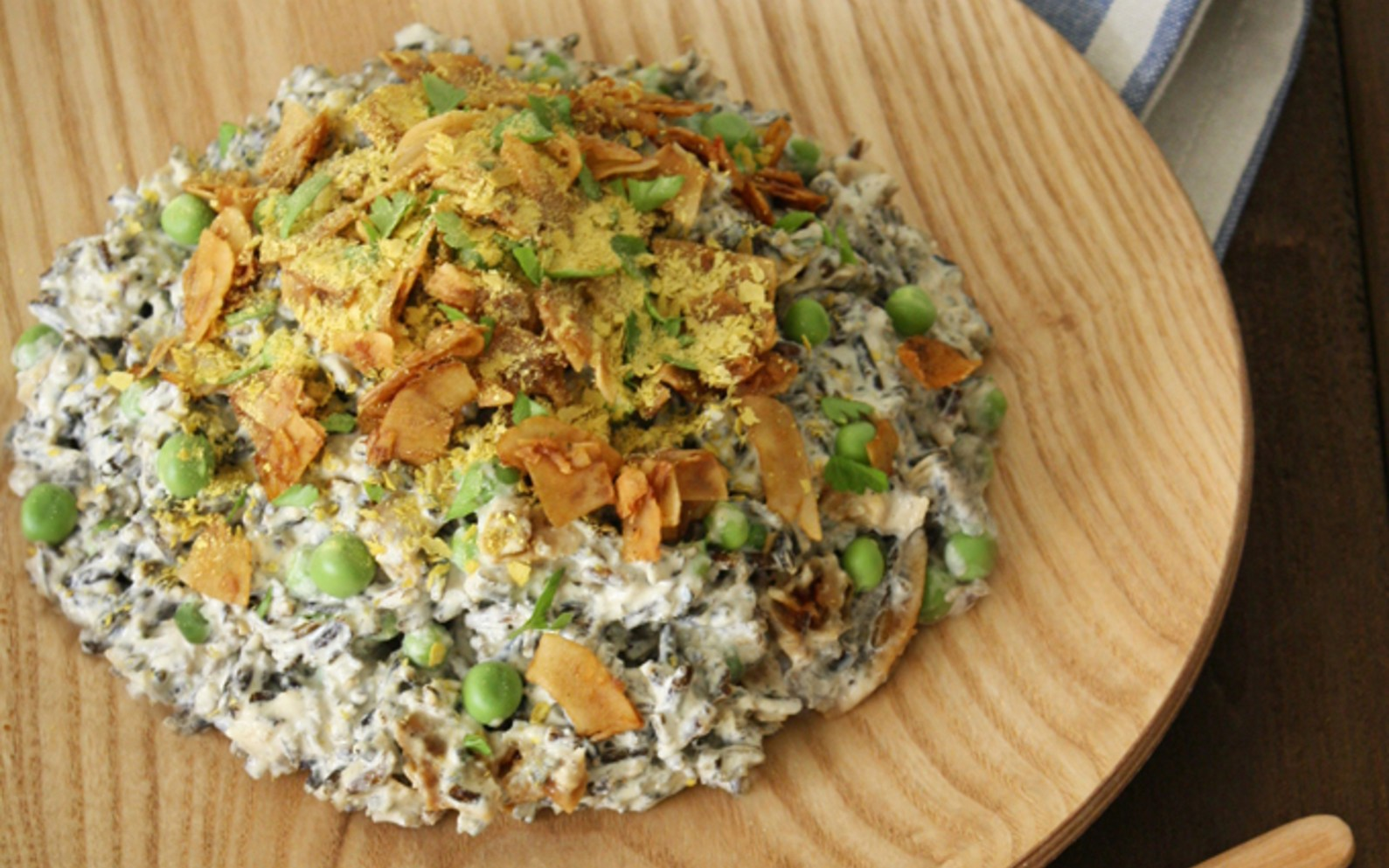 Raw Carbonara Risotto With Green Peas [Vegan, Gluten-Free, Raw ...