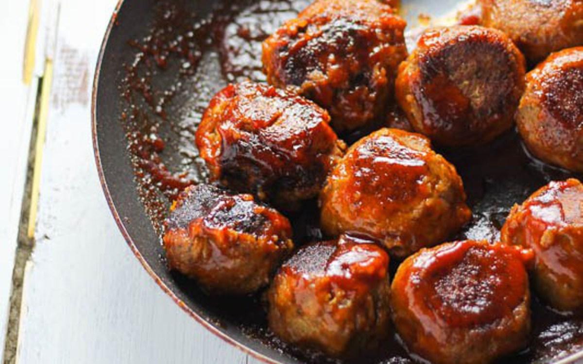BBQ Lentil Balls