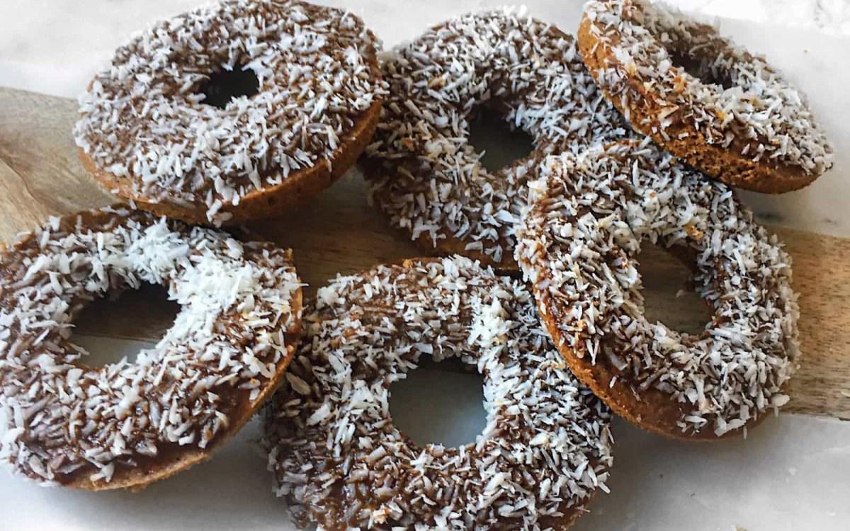 Coconut Flour Baked Doughnuts