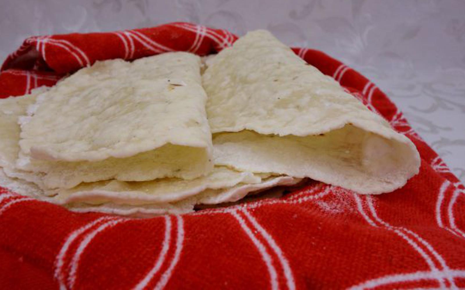 Vegan Grain-Free Paleo Tortillas