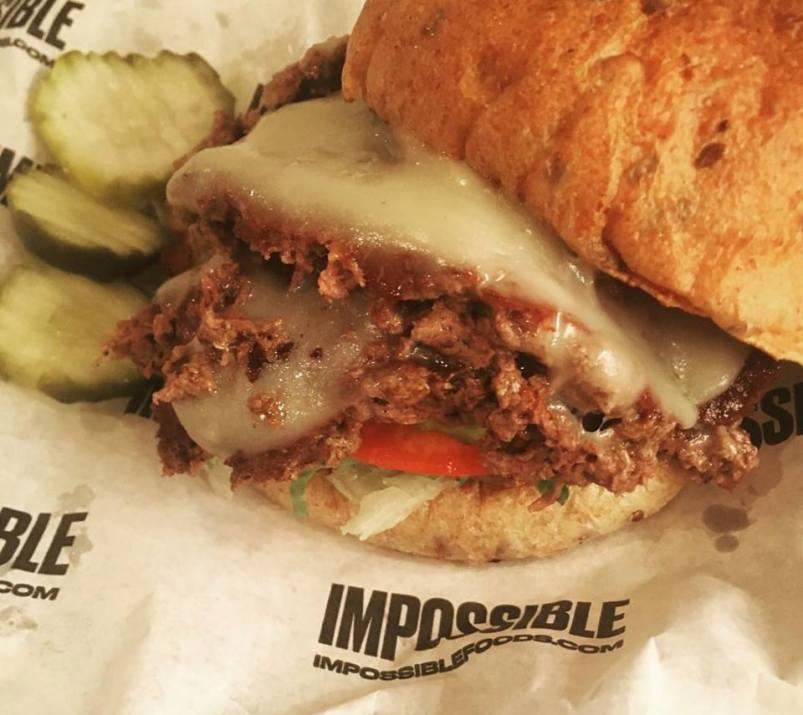 Impossible Burger at Bill's Bar and Burger in NYC