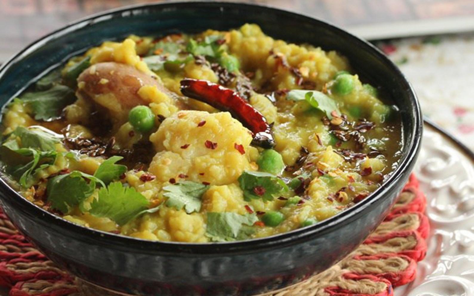 Pressure cooker bengali khichuri vegan gluten free one green planet forumfinder Image collections